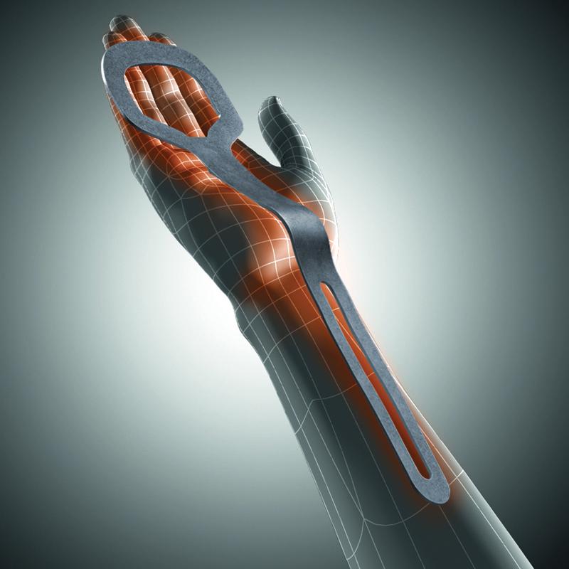 MANU-HIT DIGITUS Ортез на лучезапястный сустав с поддержкой пальцев