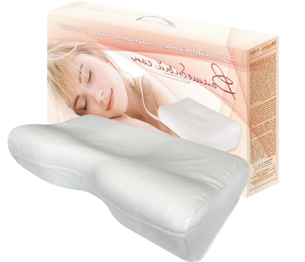 Как выбрать ортопедическая подушка под голову